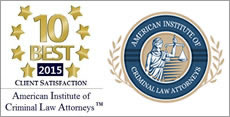 2015 Client Satisfaction Award Louis Palazzo Las Vegas Attorney