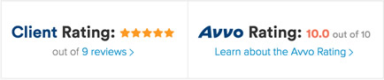My AVVO Attorney Ratings