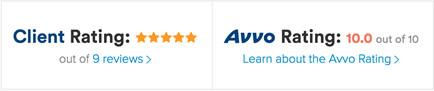 My AVVO Attorney Ratings