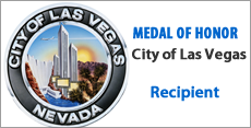 Medal of Honor City Of Las Vegas Louis Palazzo Las Vegas Attorney
